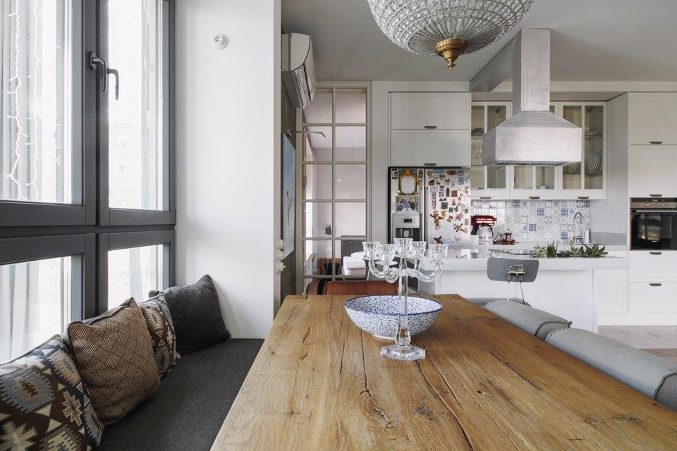 Четырёкомнатная квартира в американском стиле для семьи сдвумя детьми. Изображение № 20.