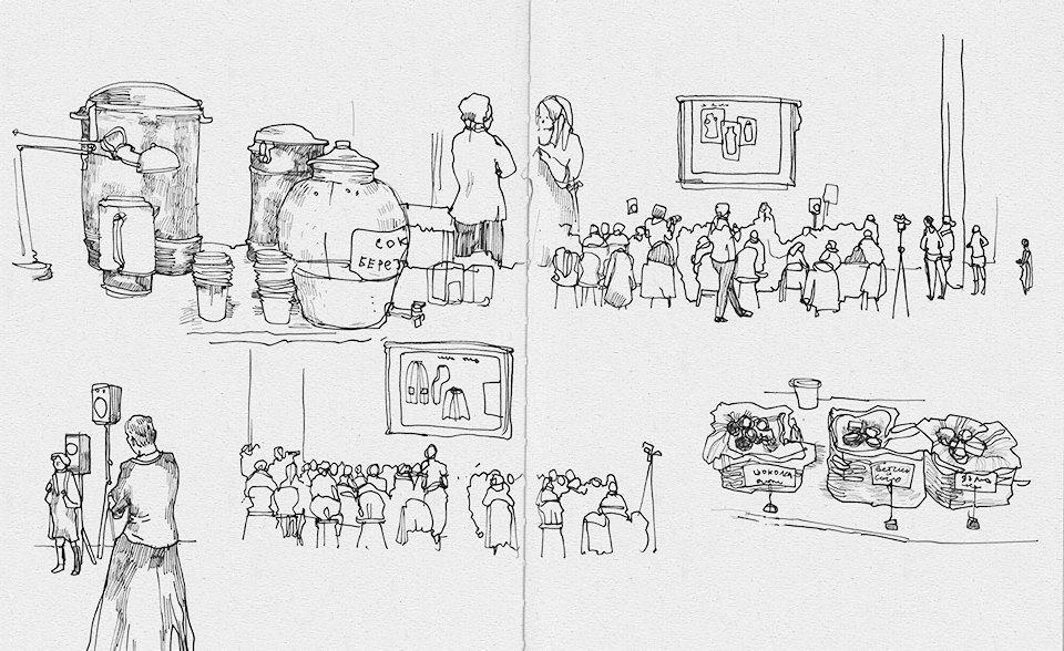 Клуб рисовальщиков: Лекция Линор Горалик. Изображение № 11.