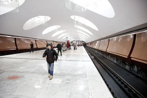 В Москве открылись три новые станции метро. Изображение № 3.