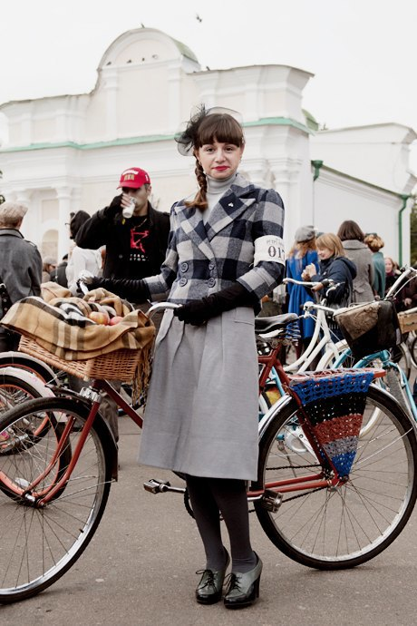 Твид выходного дня: Участники ретрокруиза — о своей одежде и велосипедах. Зображення № 20.