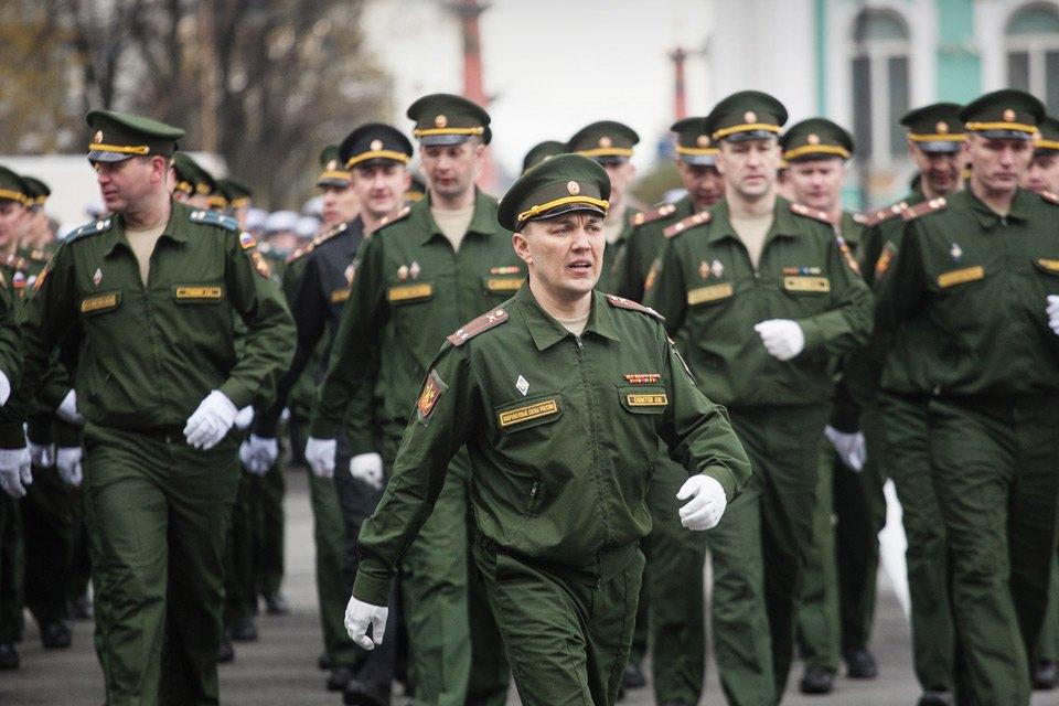 Репетиция парада Победы на Дворцовой площади. Изображение № 9.