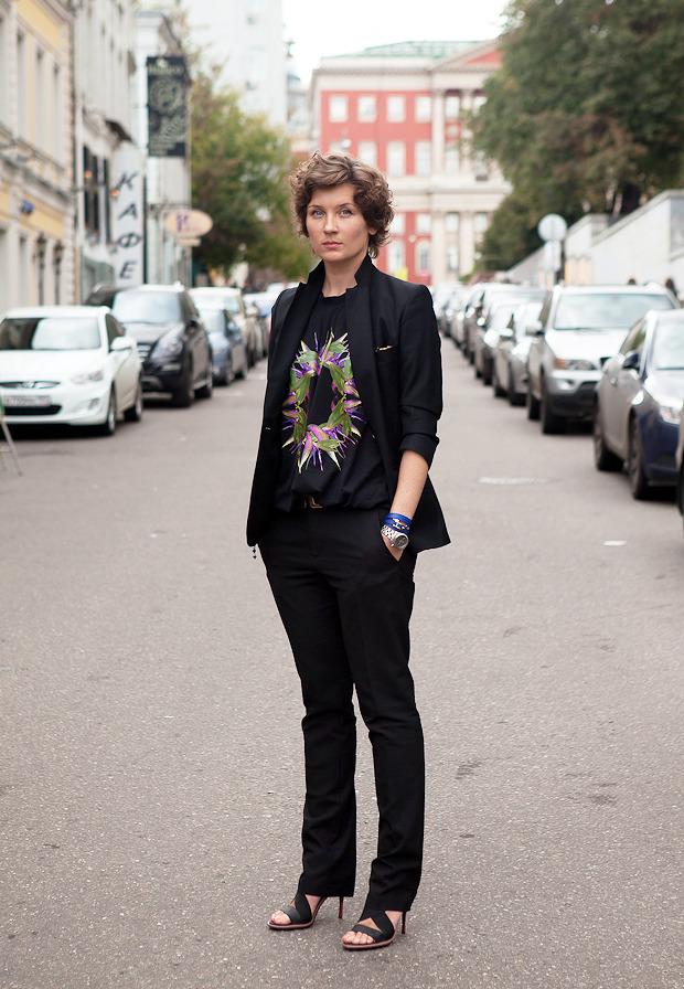 Внешний вид: Анита Гиговская, президент Conde Nast Russia. Изображение № 1.