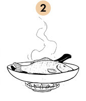 Рецепты шефов: Запечённый с травами карп с соусом из оливок и томатов. Изображение №5.