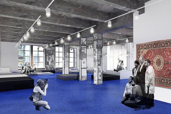 В «Этажах» открывается коворкинг площадью 700 кв. м. Изображение № 4.