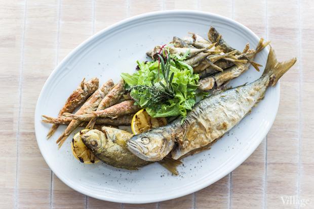 Ассорти из черноморской рыбы, 155 грн.. Изображение № 39.
