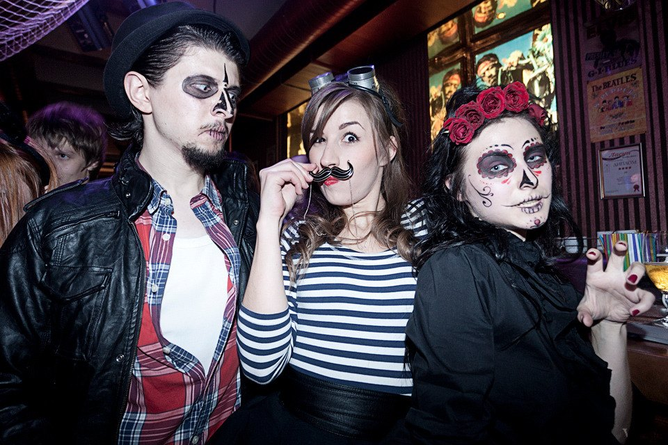 Люди в городе: Хеллоуин вКиеве. Зображення № 3.