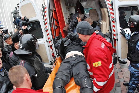 Copwatch: Действия милиции на акции «Вперёд!» возле Верховной рады. Зображення № 21.