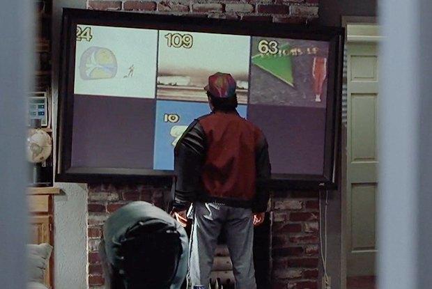 Мультиэкран вдоме МакФлаев, одновременно транслирующий несколько каналов. Изображение № 5.