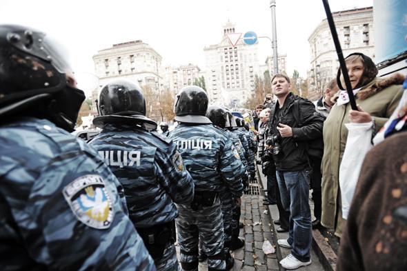 Copwatch: Действия милиции на Крещатике в день оглашения приговора Юлии Тимошенко. Зображення № 13.