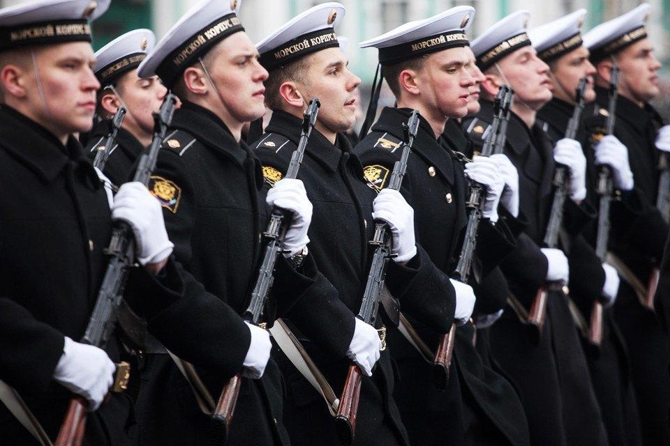 Репетиция парада Победы на Дворцовой площади. Изображение № 3.