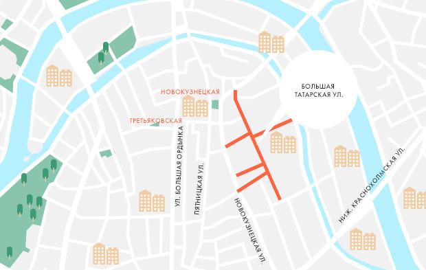 На Курбан-байрам перекроют движение по части улиц Москвы. Изображение № 2.