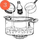Рецепты шефов: Кукурузный суп на кокосовом молоке скреветками. Изображение №5.
