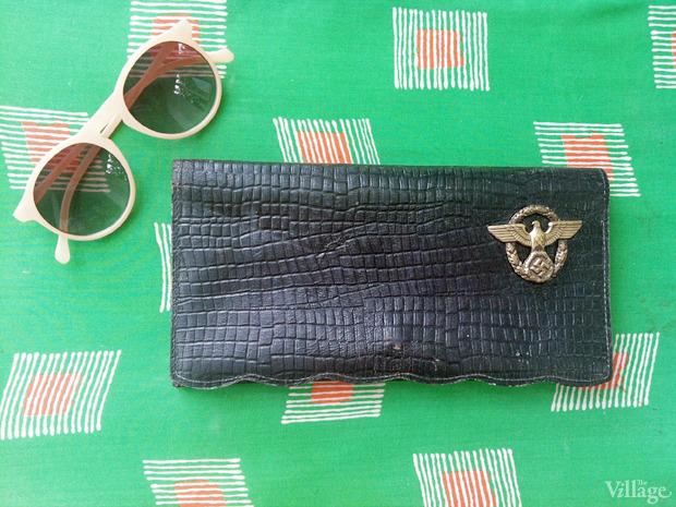 Кожаный клатч с фашистской символикой, 90 грн.. Изображение № 34.