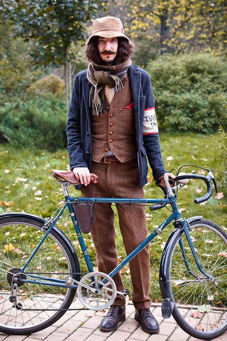 С твидом на город: Участники велопробега Tweed Ride о ретро-вещах. Изображение №111.