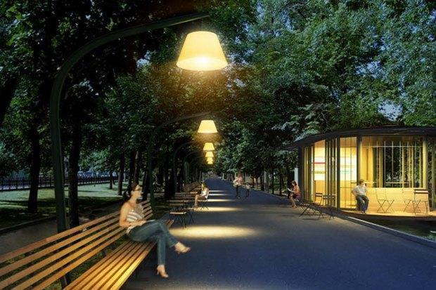 Реконструкция бульваров: Проект Wowhaus. Изображение № 2.
