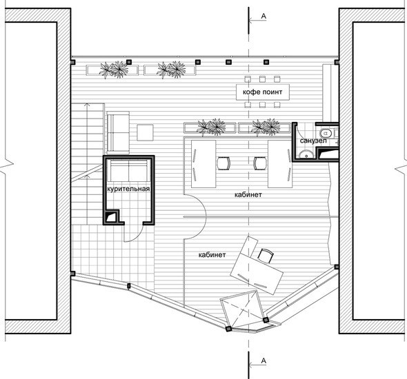 Проект второго этажа. Изображение № 8.