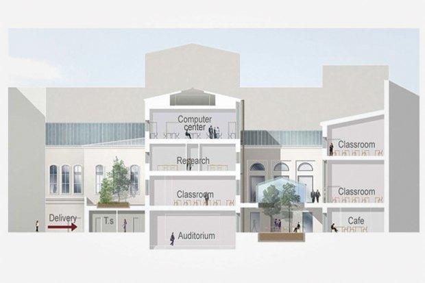 Проект недели: Как перестроят Европейский университет. Изображение № 8.