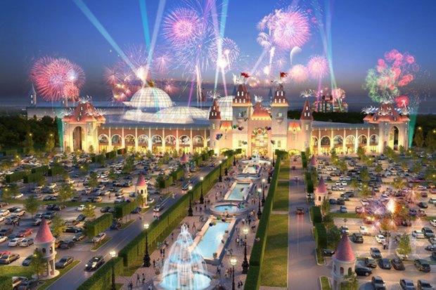 Власти показали, как будет выглядеть московский «Диснейленд». Изображение № 1.