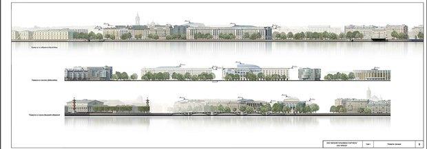 СМИ опубликовали часть нового проекта судебного квартала наПетроградской стороне. Изображение № 8.