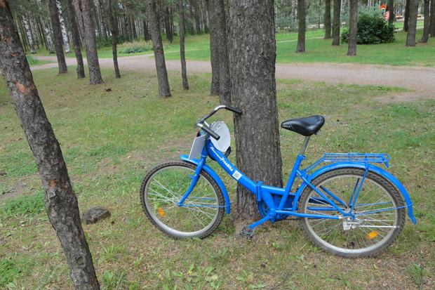 Общественный велосипед в парке Сосновка. Изображение № 1.