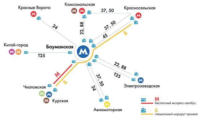 В районе станции метро «