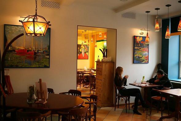 Изображение 5. Напротив Третьяковской галереи открылось вегетарианское кафе.. Изображение № 4.