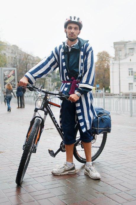 Люди в городе: участники велопарада впижамах. Изображение № 13.