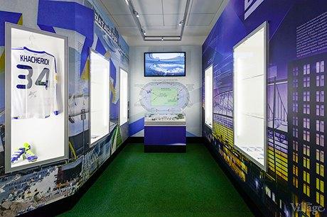 В «Олимпийском» начал работу музей истории стадиона. Зображення № 2.