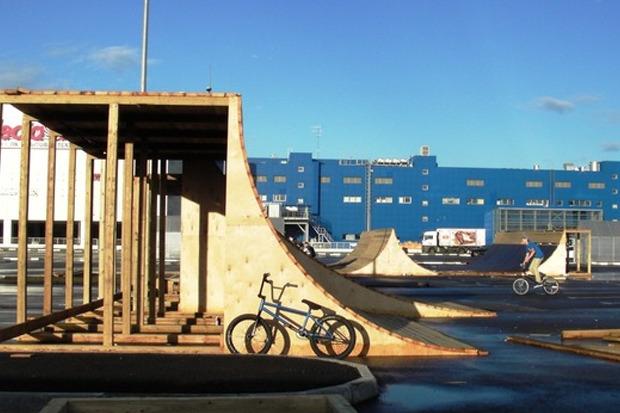 На Пулковском шоссе открылся один из крупнейших скейтпарков в России. Изображение № 6.