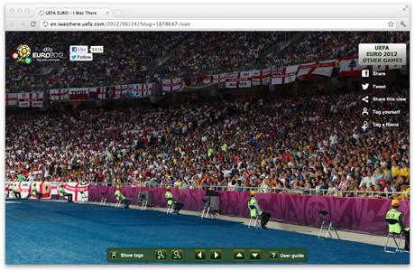 УЕФА предлагает отметить себя на интерактивной фотографии с Евро-2012. Изображение № 4.