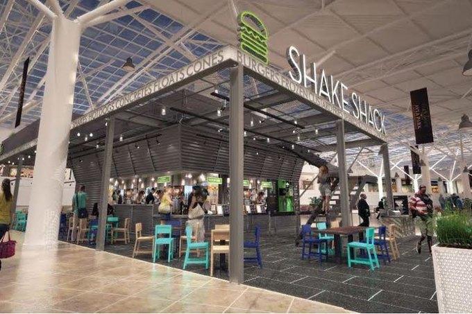 В торговом центре «Авиапарк» открывается кафе Shake Shack . Изображение № 1.