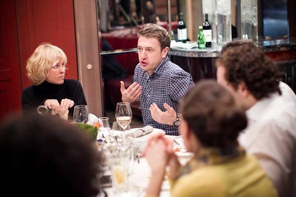 Разговоры на спортивном ужине. Изображение № 20.