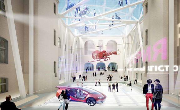 Теория вероятности: 4 проекта реконструкции Политехнического музея. Изображение № 14.