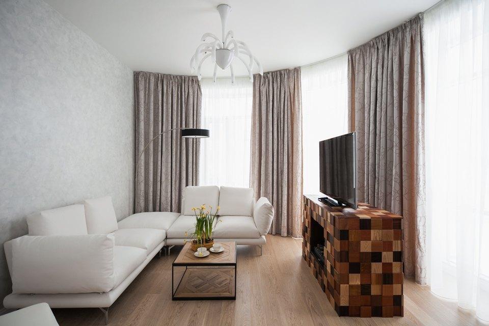 Квартира c минималистичным интерьером на Крестовском острове . Изображение № 4.