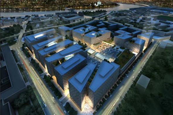 На месте завода «Знамя труда» построят торговый центр. Изображение № 1.