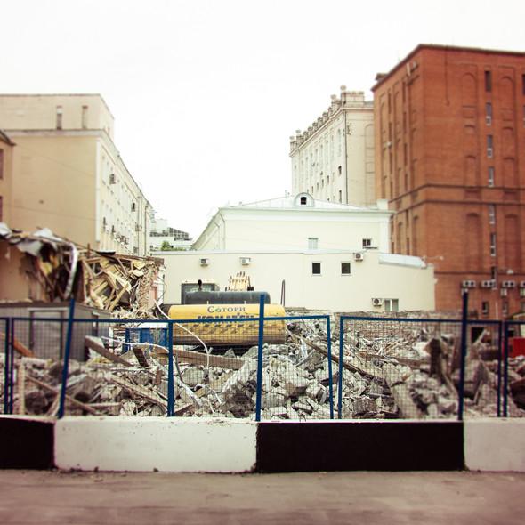 В зоне риска: Флигель фабрики в Милютинском переулке. Изображение № 4.