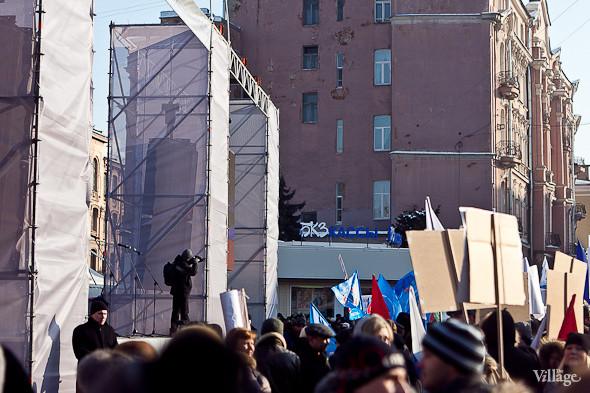 Фоторепортаж: Митинг в поддержку Путина в Петербурге. Изображение № 10.