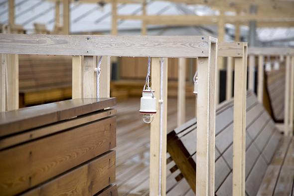Разработкой деревянного проекта занимается бюро Wowhaus. Изображение № 60.
