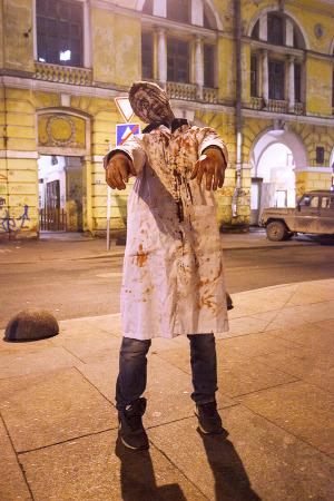 Люди в городе: Хеллоуин вПетербурге. Изображение №13.