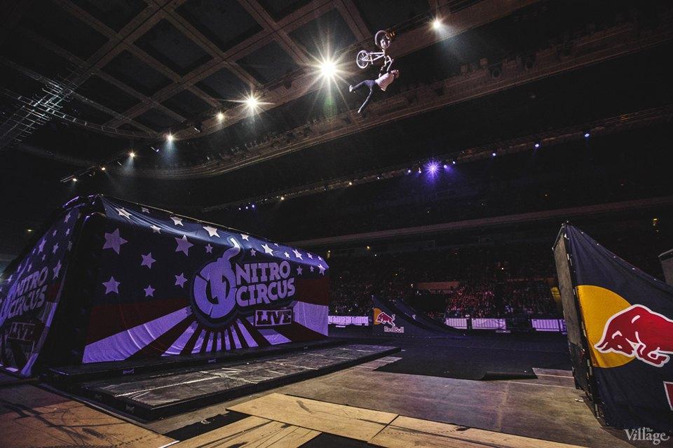 Фото дня: Шоу Nitro Circus в России. Изображение № 12.