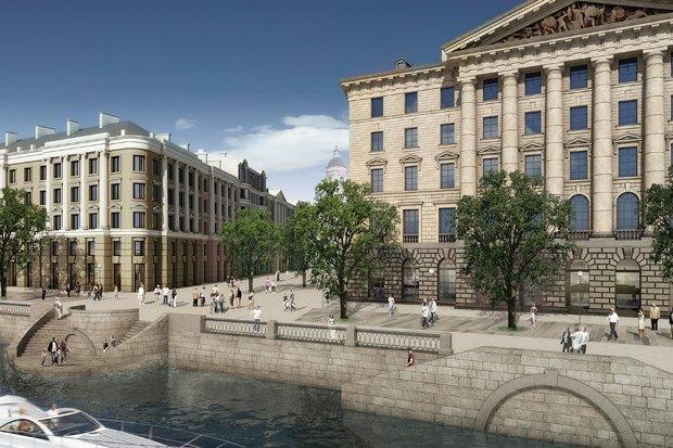 Суд идёт: четыре проекта квартала на месте «Набережной Европы». Изображение №26.