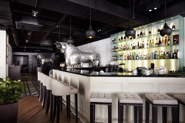 На «Смоленской» открылся мясной ресторан Happy Bones. Изображение № 3.