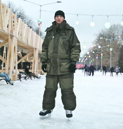 Бегущий на лезвиях: Первые посетители катка в парке Горького. Изображение № 31.