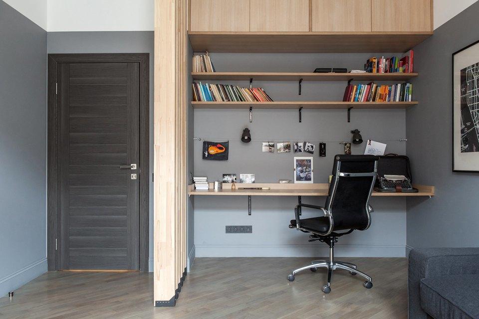 Трёхкомнатная квартира для холостяка наТишинке. Изображение № 31.