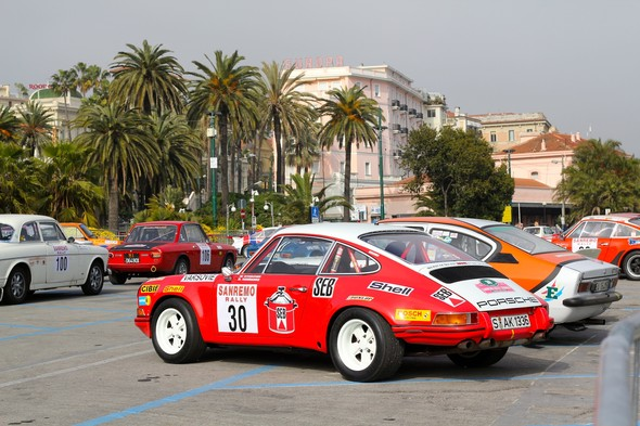 Фестиваль ретро-автомобилей в Сан-Ремо. Изображение № 3.