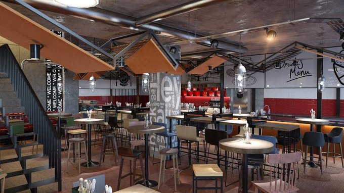НаПетроградской стороне заработал ресторан Frank . Изображение № 1.