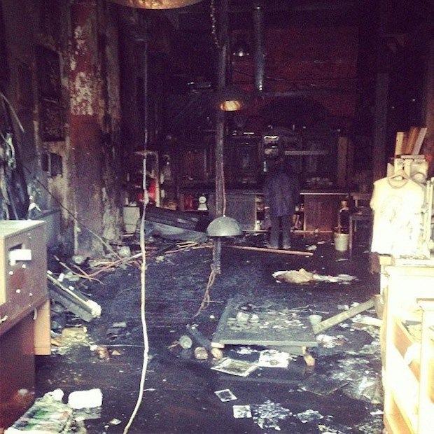 На«Курской» сгорел первый магазин LavkaLavka. Изображение № 1.