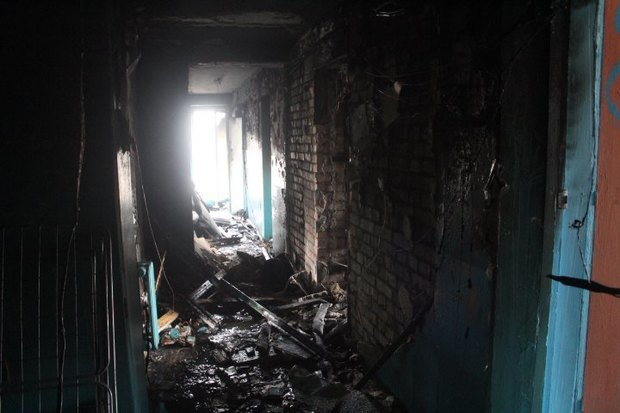 Пожар в общежитии академии Мечникова потушен. Изображение № 3.
