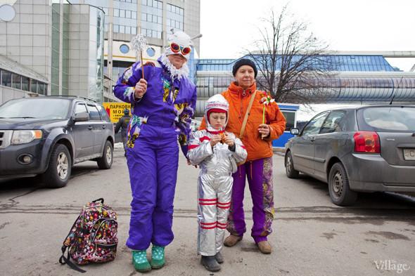 В Москве прошло арт-шествие в честь Дня космонавтики. Изображение № 32.