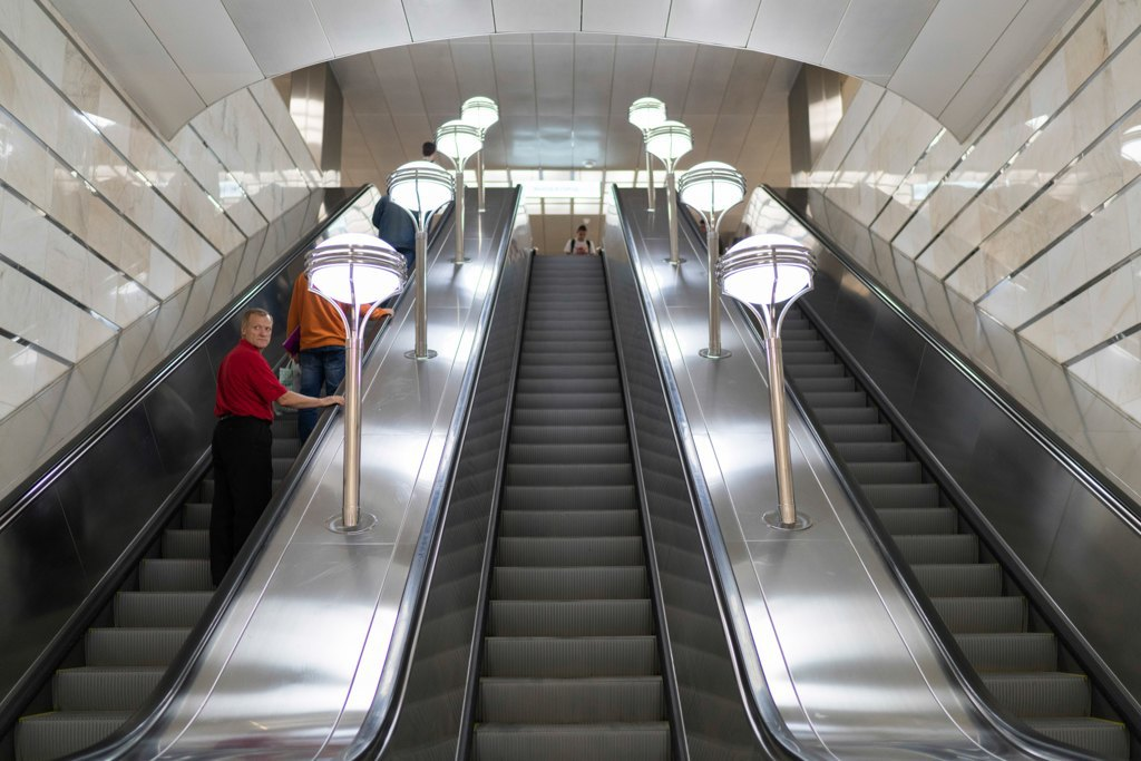 Зонтпэкер изарядка для гаджетов—как устроена станция метро «Котельники». Изображение № 12.